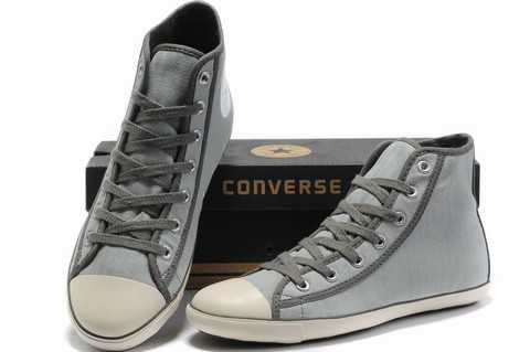converse cuir junior