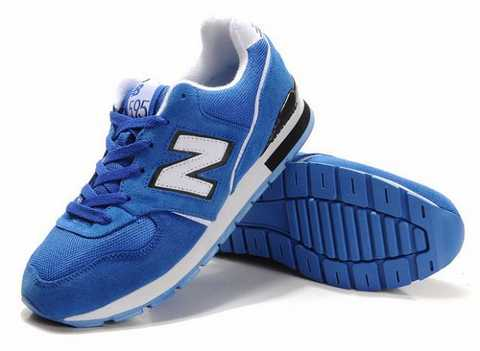 new balance fille blanche